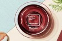 Marsala - Pantone 2015 Color of the Year / Just a few easy ways to incorporate Pantone's color of the year Marsala into your world