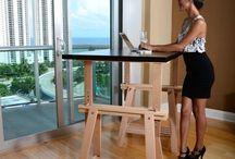 TEE ISE püsti töötamise laud {DIY Standing desk}