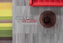 Color at Work Collection / The color at work collection is available in 9x36 and 18x36 tiles. Design is energizing. So show off your true colors - there's a palette of possibilities. Combine the at work collection with the color form/frame collection