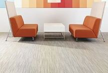 Collective Time Collection / Based on the internal clockwork of humankind, Collective Time is a tile and broadloom collection, taking inspiration of the shifting light captured from day to night and proportions of time tracked in our daily routines of activity and rest.