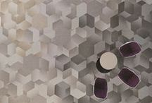 Hexagon Collection / A natural evolution of form, hexagon is the next logical move for the design of carpet tile. Non-linear in composition, it's a perfect reflection of our culture shifting toward more collaborative environments— impacting the way we work, walk, communicate, create and exist within our three dimensional space.