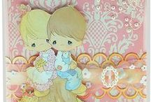 Precious Moments Cards / Cards made by PD&C Artists