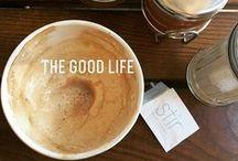 Coffee is Life / Beautiful Barista Coffee Art. Clever coffee recipes.