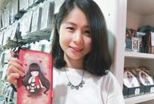 Gorjuss Girl Gifts / From Santoro UK, showed by Sandy Chang