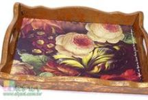 Decoupage Craft / Made by PD&C Artist for Workshops