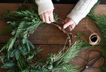 nå er det jul igjen / Christmas DIY and inspiration, wreaths, Christmas trees, giftwrapping and everything else you might need during the Christmas time.