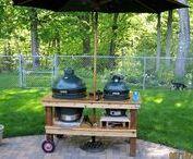 TEE ISE grillile laud (DIY Bigg Green Egg Table)