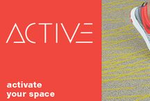 Active Collection by Shaw Contract /  Activate your Space with Active Collection by Shaw Contract