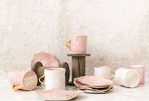 Tablewear // Ceramics / Tablewear and dinnerwear design, Ceramic mugs and potteries