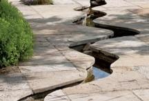 Garden pavements