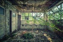 Abandoned Buildings / If you could spare a minute or two I'd love to show you my online stores!  http://www.zazzle.com/mbr/238612242745795440  Thanks for stopping by and have a great day!   / by dww25921 on Zazzle