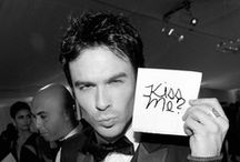 Double Tap: Ian Somerhalder and VD/Originals Cast / How you doing?! / by Leo Black