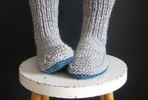 boots,soks - crochet,knit,sew