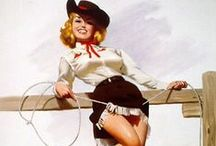PIN-UP ● Cowgirl