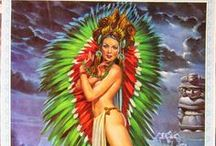Pin-up ● Native American