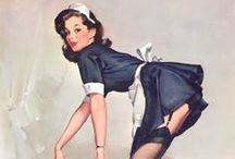 Pin-up ● French Maid