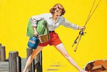 Pin-up ● Fishing
