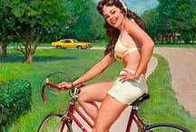 Pin-up ● Bicycle
