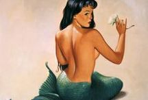 Pin-up ● Mermaid