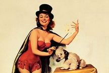 Pin-up ● Magician