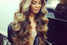 Curly wavy styles