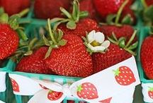 Strawberries / I do not claim to be the owner of these beautiful photos. Pin & share as often as you wish, so others may enjoy, as I do. / by judi bianca