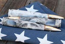 'Merica / American Flag Custom Engraved Bottle Breacher.