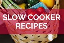Slow Cooker Recipes / Delicious slow cooker & crock pot recipes