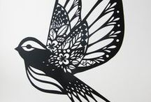 Birds in all kinds of art