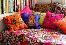Bohemian ,gypsy decor