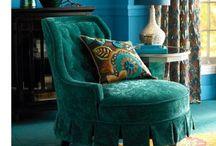 Boho, gypsy, ethnic chairs