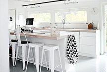 Kjøkken / Inspirasjon til kjøkken