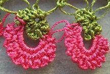 Turkish needle lace work