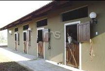 Baias para Cavalo / Modelos de Portas e Frentes para Baia