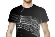 Mens Art T-shirts / Art prints by Nicky van Gelder on mens T-shirts