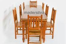 Mesas, Bancos e Cadeiras - MS / Mesas, Bancos e Cadeiras