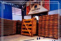 Porteiras e Portões MS / Porteiras e Portões fabricados com madeira de alta qualidade, veja mais modelos em nosso site: www.lojamadersilva.com.br