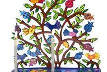Hanukkah / Hanukkah menorahs, dreidels, kids things.  Hanukkah ideas for decorations, and parties.   / by Judaism.com