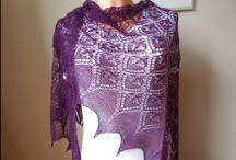 shawls / knitted crocheted