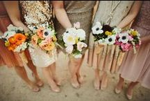 Flower girls / Nice and romantic pics of bridal maids and their bouquets / by De Italiaanse Bruiloft