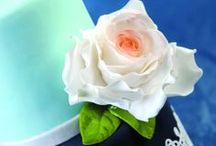 Torte di Matrimonio, di Battesimo, Torte con fiori / Sono le torte da me create per avvenimenti importanti!