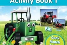 Tractor Ted / Discover the real life world of farming through Tractor Ted's DVDs, books and other great products! Here are a few examples of the great Tractor Ted products available.
