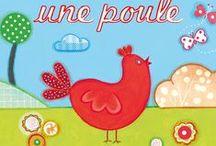 Poule, poussin, oeuf / À Pâques, les poules ne pondent pas d'œufs en chocolat, mais vivent plutôt de drôles d'aventures. Retrouvez-les dans des contes traditionnels, des adaptations ou des histoires loufoques ! Dès 4 ans.