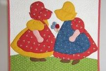sunbonnet sue & sam