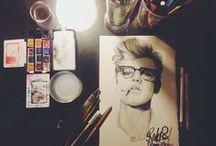 Studio / Photography, illustration, collage, mixed media arts.