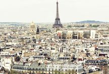 """Paris is always a good idea / """"Paris is not a city, it's a world"""""""