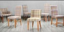 COUNTRY COLLECTION: Tartan & Tweed Fabric Chairs
