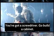 You've got a screwdriver go build a cabinet / Doctor who fan board possible links to other fandoms / by Lydia Kitchen