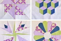 QUILT BLOCKS IN COLOR 1 / by Dorte Rasmussen.Denmark