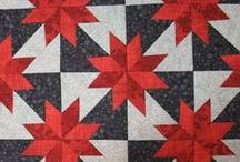 RED/WHITE/BLACK QUILTS / I love the 3 colors together. So please pin many  many fabric things in these 3 colors. Thanks dear friends. Please feel free to invite another person. If you want to be invite please send me a email: dora@hopap.com :-)
